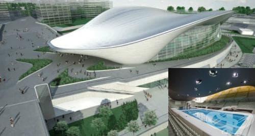 Лондонски олимпийски аквацентър - изображение