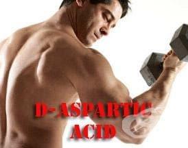 D-аспарагинова киселина като спортна добавка - изображение