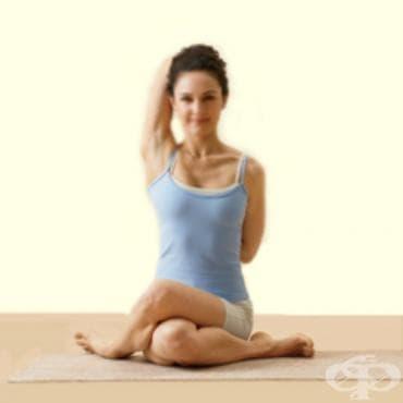 Йога пози – Гомукасана - изображение