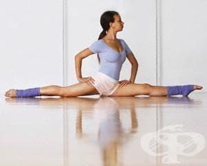 Лесни упражнения за разтягане до шпагат - изображение