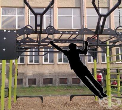 Изграждане на мускулна маса с уличен фитнес - изображение