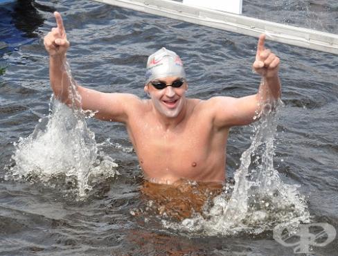 Петър Стойчев – плувен маратон - изображение