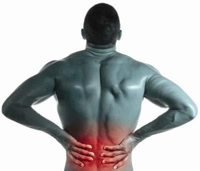 Разтежение в областта на кръста при спортисти - изображение