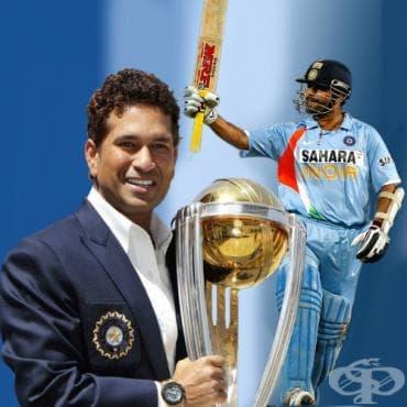 Сахин Тендулкар – крикет - изображение