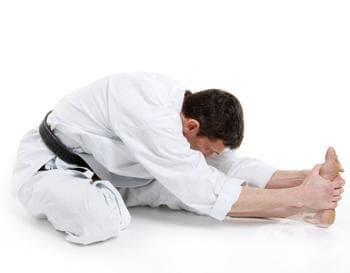 Стречинг техники в бойните изкуства - изображение