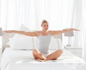 Сутрешни упражнения за свежо начало на деня - изображение