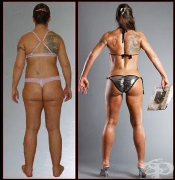Тренировъчна програма за стягане на седалищните мускули - изображение