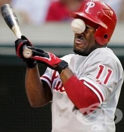 Травма в областта на очите при спорт - изображение