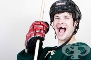 Травми на зъбите в спорта - изображение