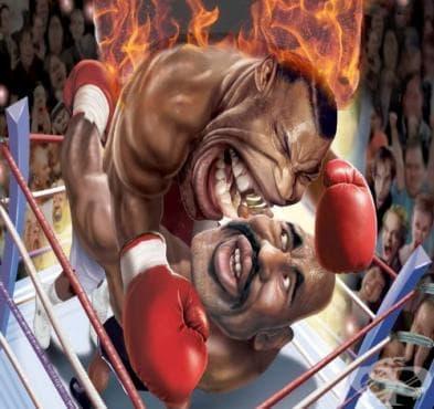 Майк Тайсън срещу Ивендър Холифийлд – мач №2 - изображение