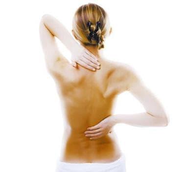 Упражнения при торакална дискова херния - изображение