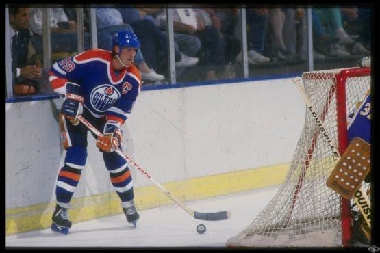 Уейн Грецки - Хокей на лед - изображение