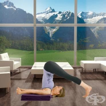 Йога поза – Халасана - изображение