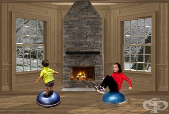 Как да държим децата активни през зимата - изображение