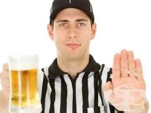 Алкохол и спорт - изображение