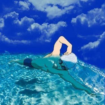 Големите тайни на бързото плуване под напрежение - изображение