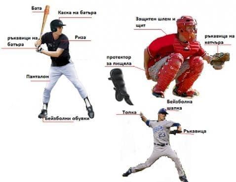 Пособия за бейзбол - изображение