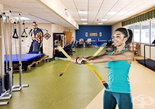 Рехабилитация и физическа терапия с Бодиблейд - изображение