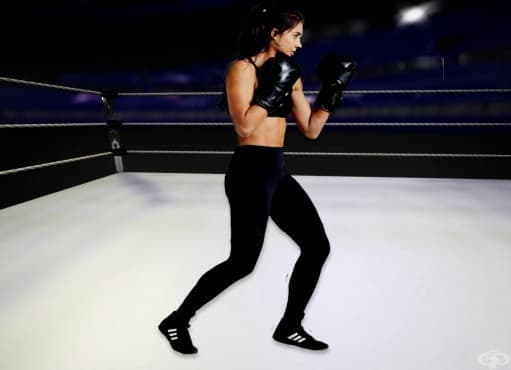Боксова тренировка за цялото тяло за жени - изображение
