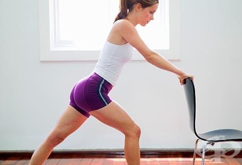 Упражнения при болка в капачката на коляното (пателофеморален синдром)  - изображение
