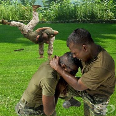 Програма по бойно-приложни техники на морската пехота - изображение