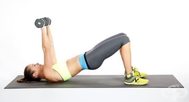 Бърза тренировка за цялото тяло с удвоена ефективност, която да правите вкъщи - изображение