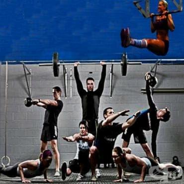 Шестте най-брутални кросфит тренировки - изображение