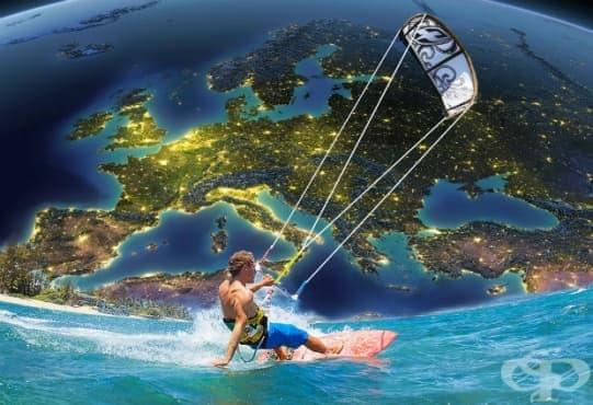 Най-добрите европейски дестинации за кайтсърф - изображение