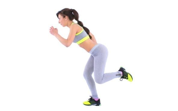 Динамична тренировка за крака за жени, която можете да правите вкъщи - изображение