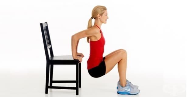 7 интересни и ефективни упражнения, за които ви е нужен само стол  - изображение