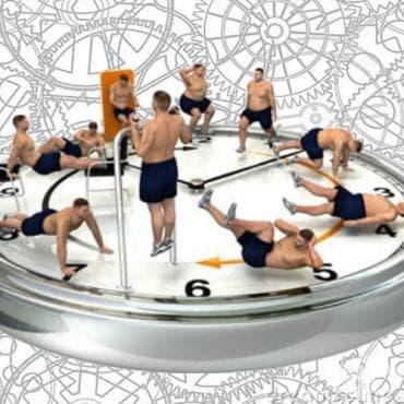 Екстремна кръгова тренировка за отслабване - изображение