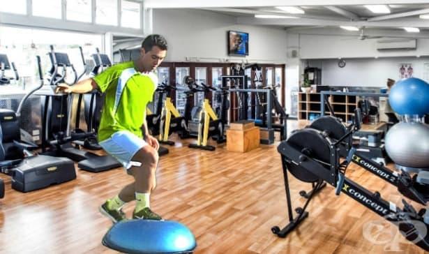 Фитнес програма за футболисти - изображение