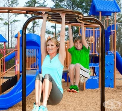 Детските площадки – най-добрият приятел на трениращия родител - изображение