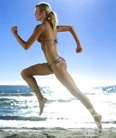 Фитнес през лятото - интервални тренировки на плажа - изображение