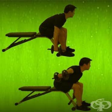 Обратен флайс за тренировка на задната част на рамото - изображение