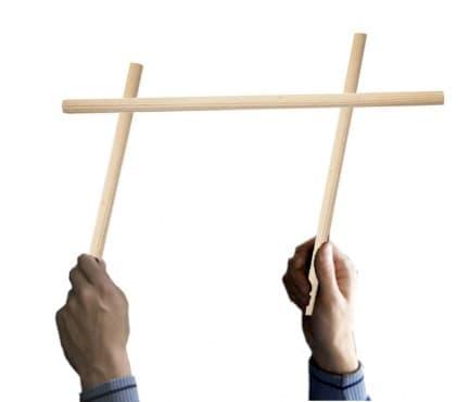 Тест за координация с въртене на пръчка - изображение