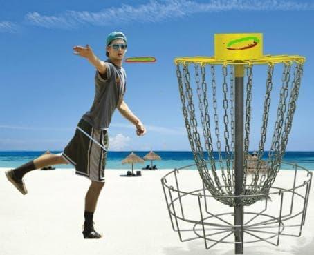 Фризби голф - изображение