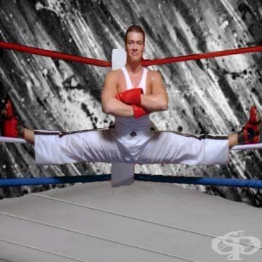 Гъвкавостта в бойните спортове - изображение