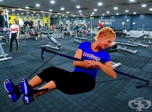 Функционална тренировка с джимстик за средна част на тялото - изображение