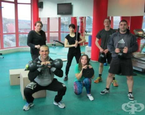 Хард крос тренировка със свободни тежести - изображение