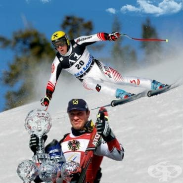 Херман Майер – алпийски ски - изображение