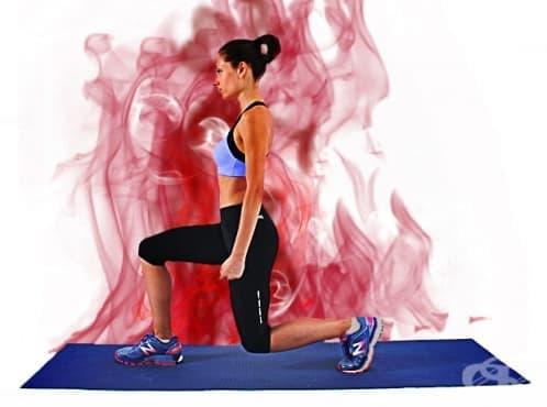 HIIT тренировка за долна част на тялото - изображение
