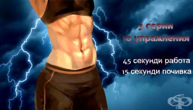 Високоинтензивна интервална тренировка за горната част на тялото за жени - изображение