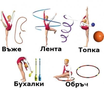 Художествена гимнастика - изображение