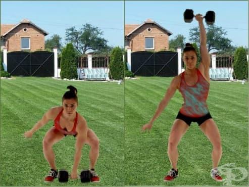 Изхвърляне с дъмбел – упражнението за изумителен мускулен растеж - изображение