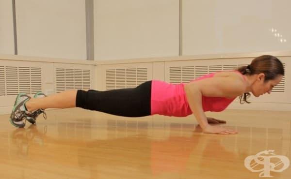 Изометрични упражнения за цялото тяло, с които да поддържате форма в малко жилище - изображение