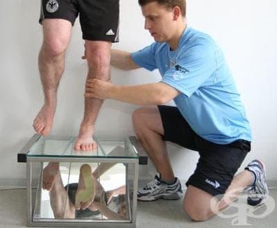 Изследване за плоскостъпие в спорта - изображение