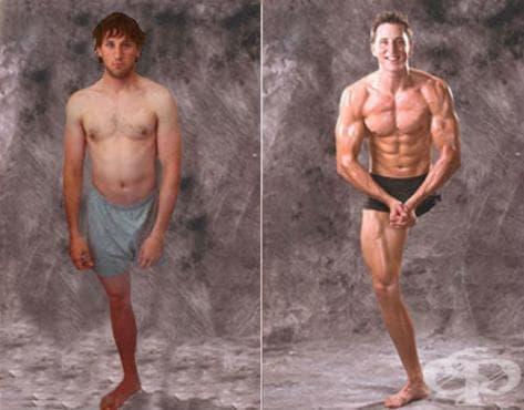 Еднокракият Джошуа Сундкуист – от затлъстяването до тялото на културист - изображение