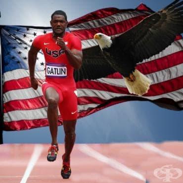 Джъстин Гатлин - 100 и 200 метра спринт - изображение