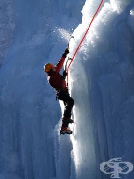 Ледено катерене - изображение